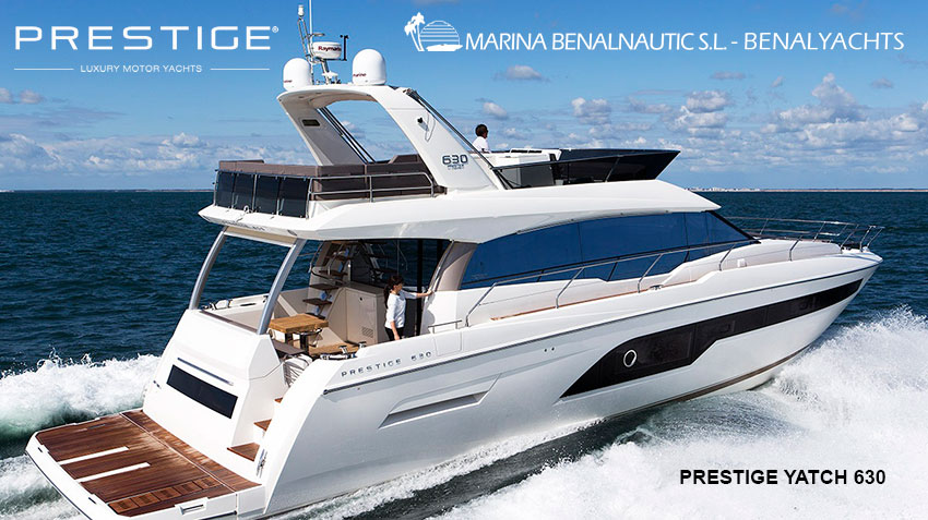 prestige luxury yatch 630 2017